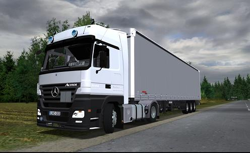 MB Actros 1844 German Truck Simulator