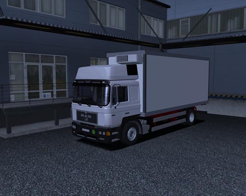 MAN BDF German Truck Simulator