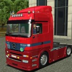 Mercedes Benz Actros MP1 Euro Truck Simulator