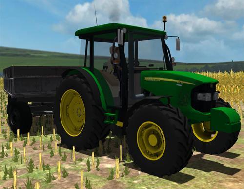 John Deere Tractor Game