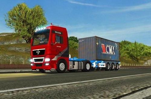 MAN TGX XXL Euro Truck Simulator