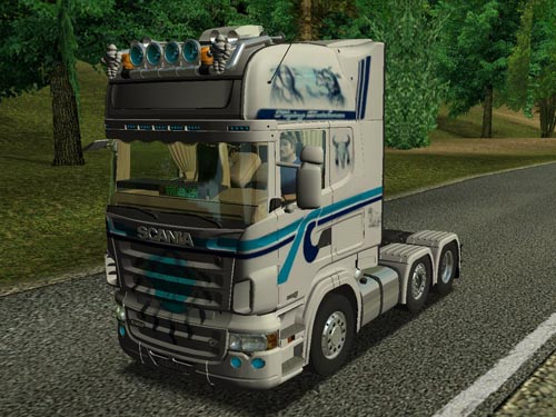 Scania R500 V8 6×2 German Truck Simulator