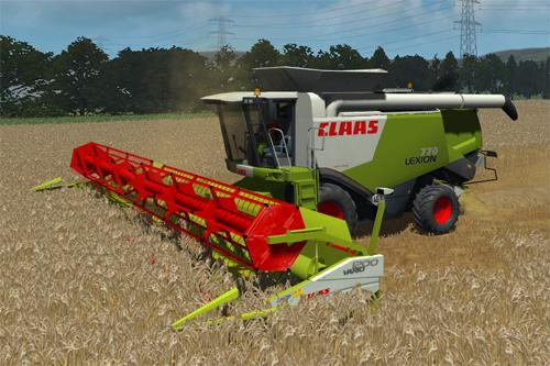CLAAS Lexion 770 Harvester Pack