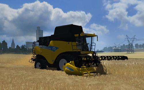 New Holland CR9060 Mod Pack