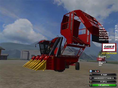 Case Cottonexp 620 Cotton Harvester