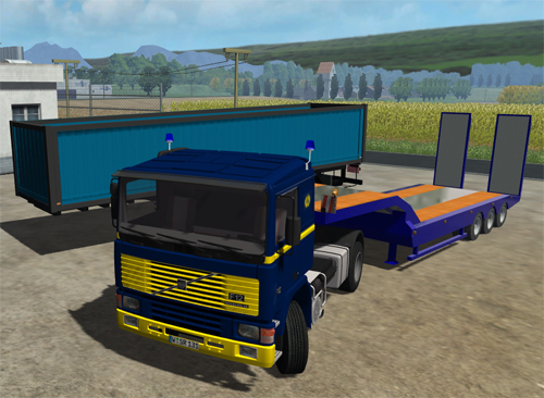 Volvo F12 Tractor and Combine Transport Pack