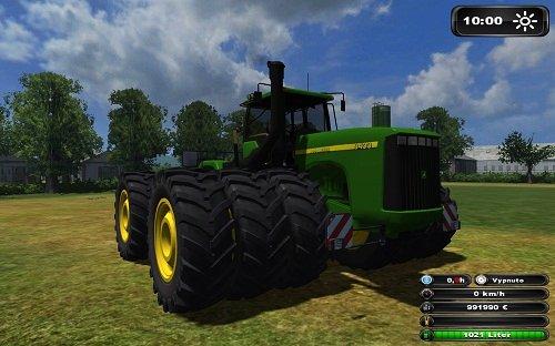 John Deere 9400 BIG Tractor