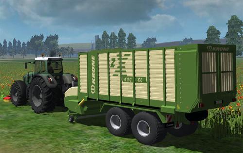 Krone ZX 400 GL Grass Silage Trailer