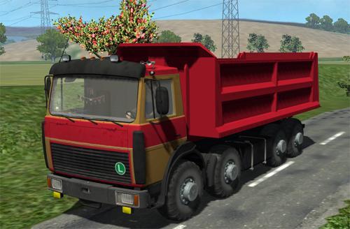 MZKT 7401 8×8 Truck Download