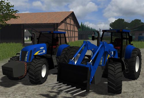 New Holland T8040 Tractor Pack