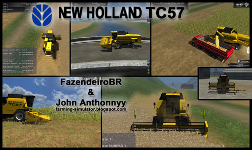 New Holland TC57 Combine Pack