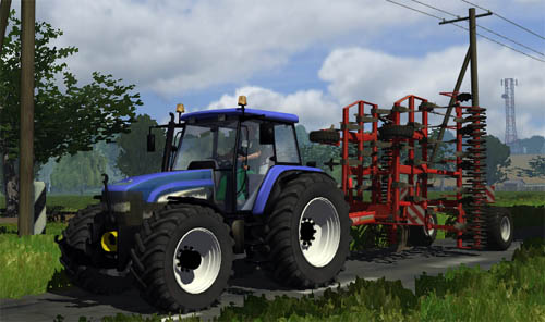 New Holland TM155 Tractor Download