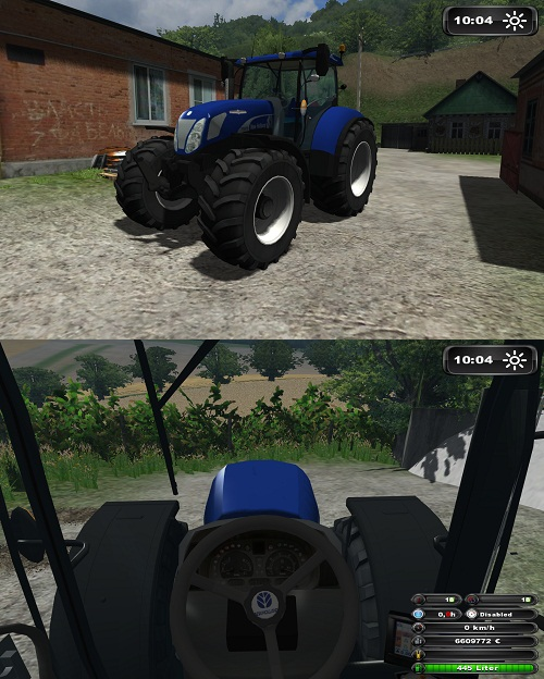 NewHolland T7070 BluePower