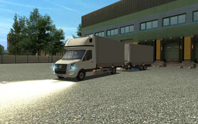 VW Crafter + Trailers +interior  GTS