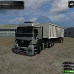 Mercedes Benz Axor 2544 and Trailer Pack