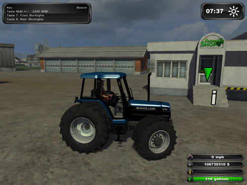 Ford 7740/ New Holland 8340
