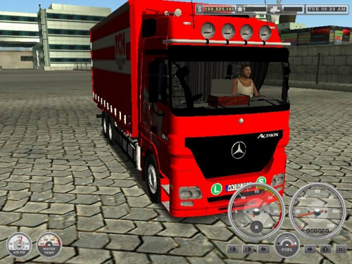 Benz MB ACTROS MP2 18Wos Haulin