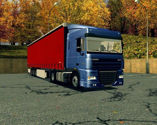 DAF XF105 Euro Truck Simulator