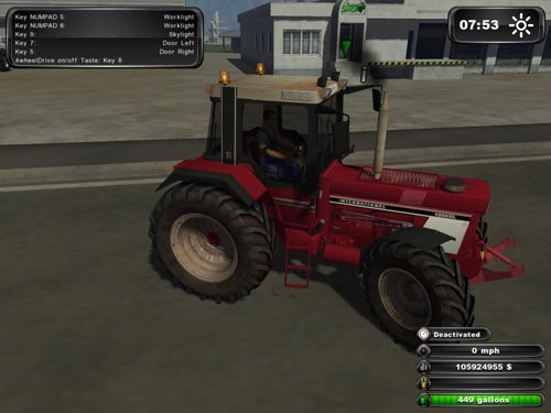IHC 1056 XXL Strongh Tractors