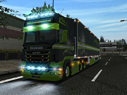 euro truck simulator scania mods download