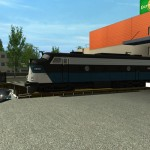 Train Transport Trailers Euro Truck Simulator