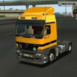 MB Actros 1840 18 Wos Haulin
