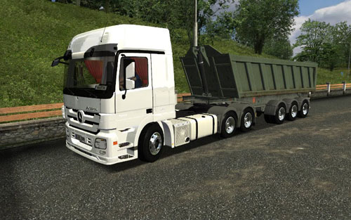 Mercedes Benz Actros 2644 ( German Truck Simulator )