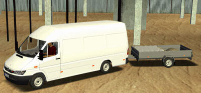 Mercedes Sprinter + Trailer (18 Wos Haulin )