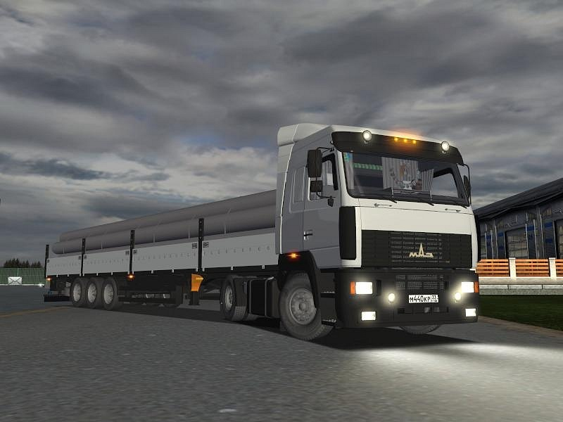 Maz 5440 (German Truck Simulator)