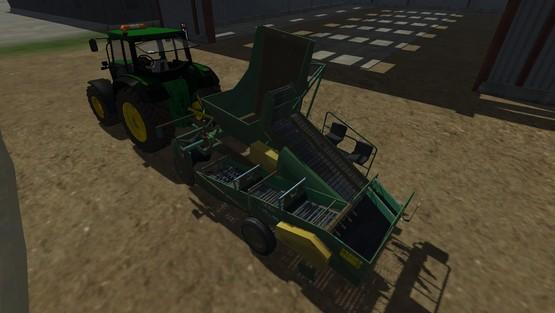 Bolko Z-643 beet harvester