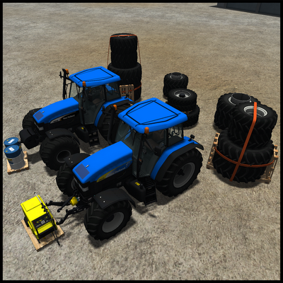 New Holland TM175 and TM190