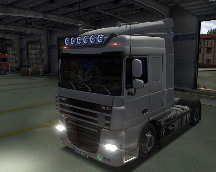 Daf XF 105 German truck Simulator Mod