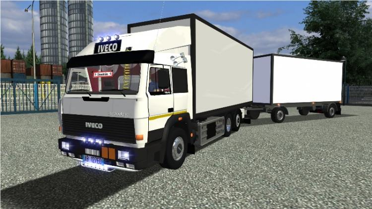 Iveco Turbostar + Trailers