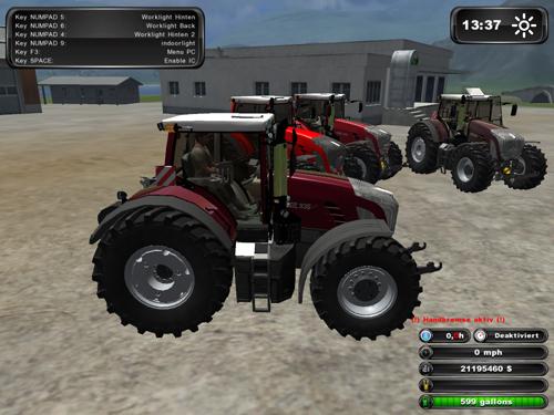 Fendt 936 Vario Tractor Set Cool