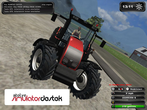 Turkish Tractor Hattat A95