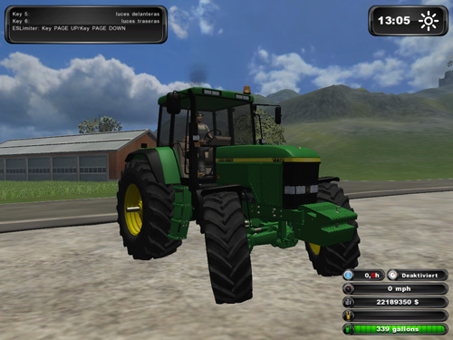 Powerful John Deere 7710 Tractor