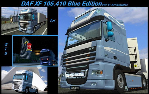 DAF-XF-105.410 Blue Version