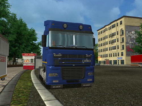 Daf XF 95 Dark Blue