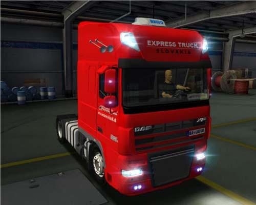 Daf XF105 Express Truck