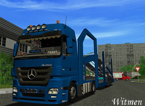 MB Actros 1844 Megaspace for [Haulin]