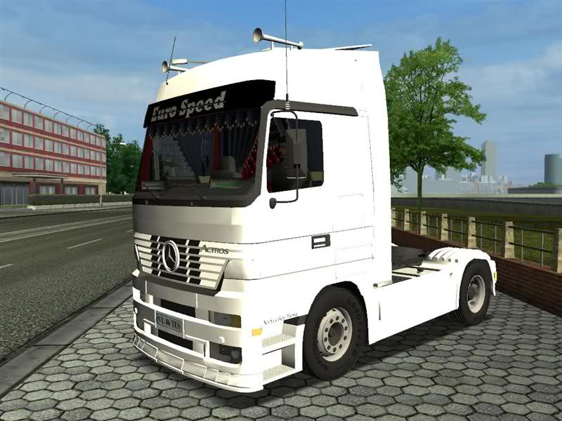 Mercedes Benz Euro Speed