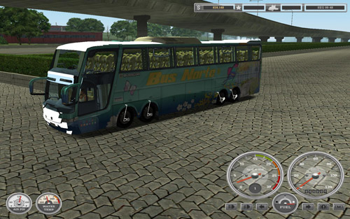 Scania 8×4 Bus [Haulin]