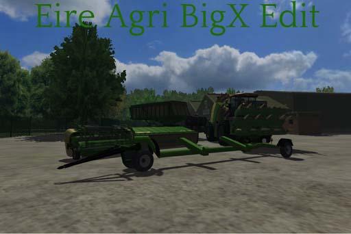 Krone bigX1100 eireagri edit