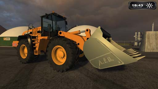 Case 721e Loader for DLC2 BGA inc. shovel (English)