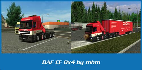 DAF CF 8×4 Colonia
