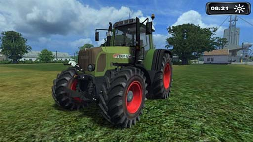 Fendt 412 Vario TMS