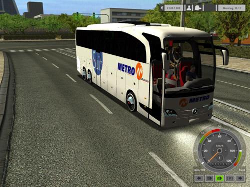 2012 Metro tourism Suit Double Axle Travego