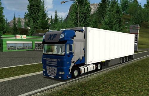 Daf XF 105 Mega Euro Truck Simulator Modu