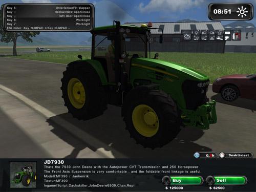 John Deere 7930 Premium V6