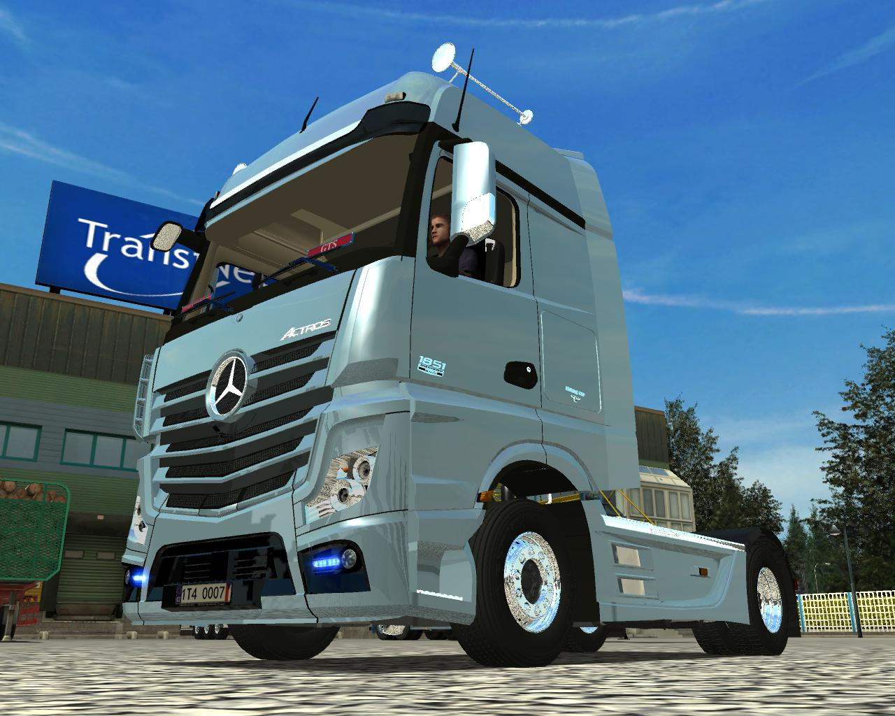 Mercedes Actros 1851 GTS